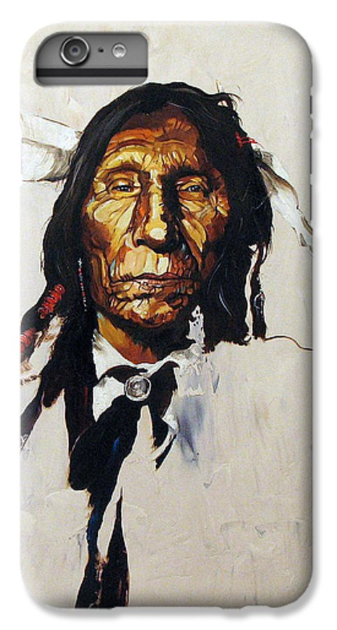 Southwest Art IPhone 6s Plus Case featuring the painting Remember by J W Baker