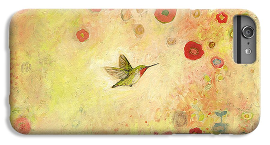 Bird IPhone 6s Plus Case featuring the painting Returning To Fairyland by Jennifer Lommers