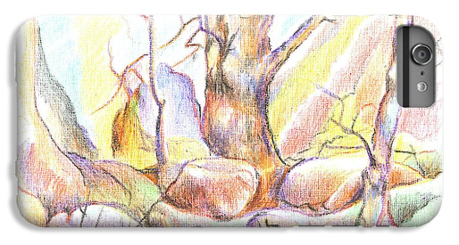 Softly Speaking IPhone 6s Plus Case featuring the painting Softly Speaking by Kip DeVore