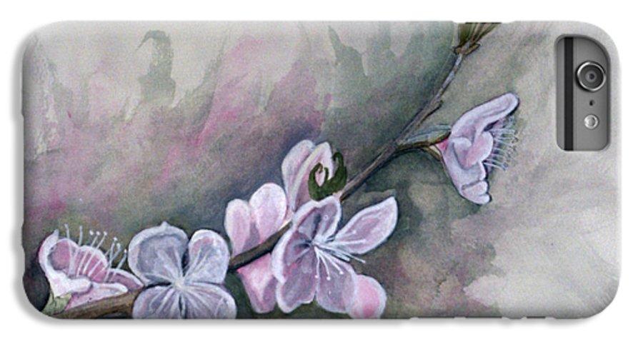 Rick Huotari IPhone 6s Plus Case featuring the painting Spring Splendor by Rick Huotari