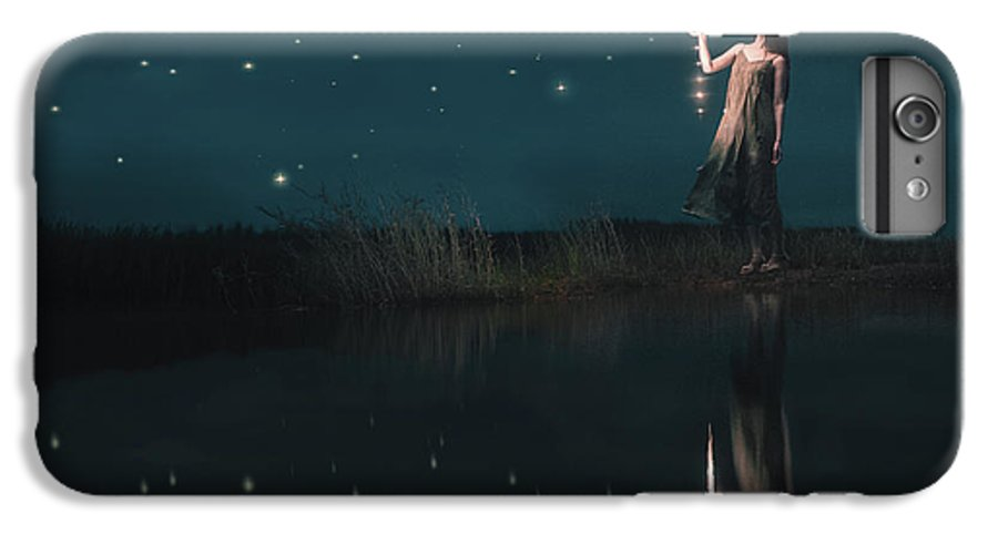 Conceptual IPhone 6s Plus Case featuring the photograph Starfall by Terry F