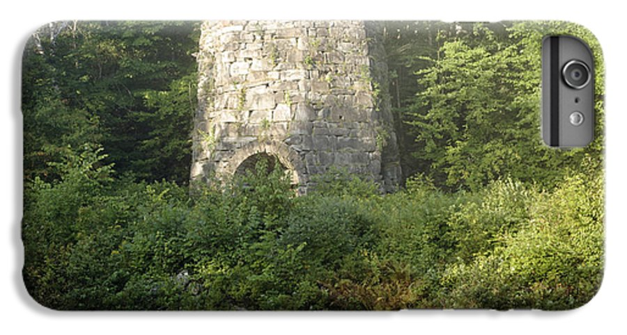 New England IPhone 6s Plus Case featuring the photograph Stone Iron Furnace - Franconia New Hampshire by Erin Paul Donovan