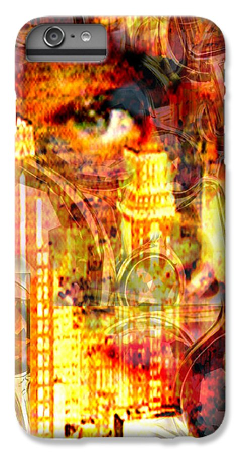 Big City IPhone 6s Plus Case featuring the photograph Streetwalker by Seth Weaver