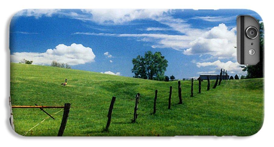 Summer Landscape IPhone 6s Plus Case featuring the photograph Summer Landscape by Steve Karol