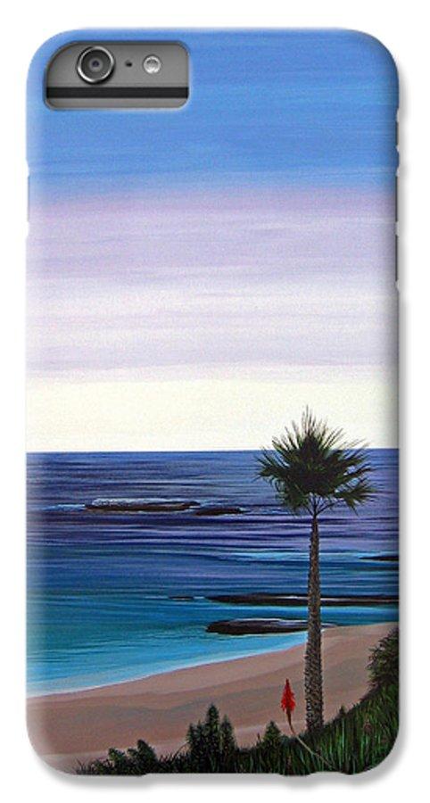 Malibu Beach IPhone 6s Plus Case featuring the painting Summer Samba by Hunter Jay