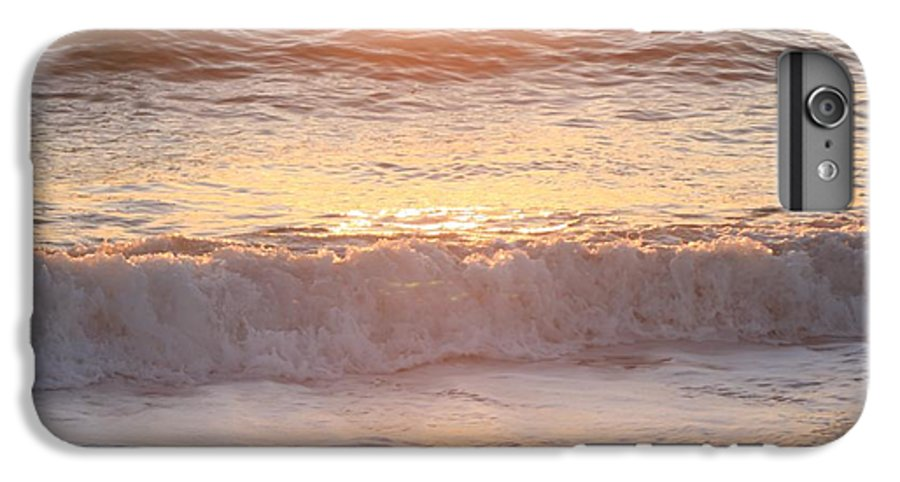 Waves IPhone 6s Plus Case featuring the photograph Sunrise Waves by Nadine Rippelmeyer