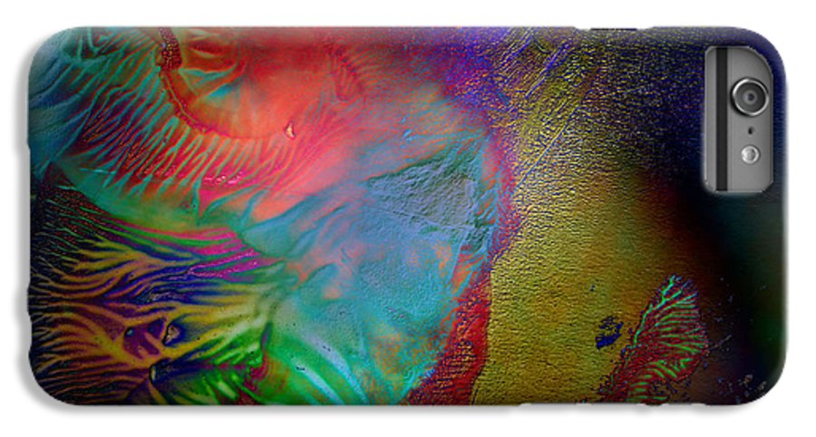 Surrealism IPhone 6s Plus Case featuring the digital art Topology Of Decalcomania by Otto Rapp