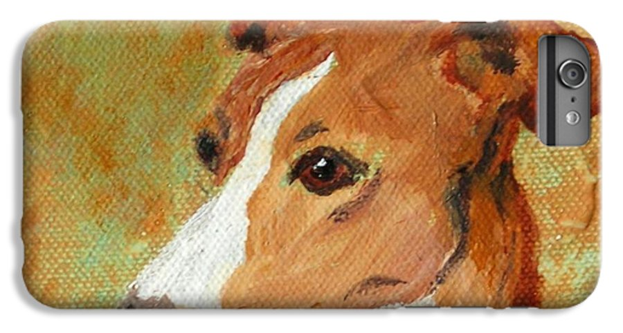 Acrylic IPhone 6s Plus Case featuring the painting Treasured Moments by Cori Solomon