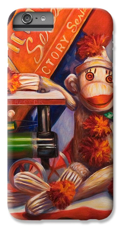 4th Of July IPhone 6s Plus Case featuring the painting Victory by Shannon Grissom