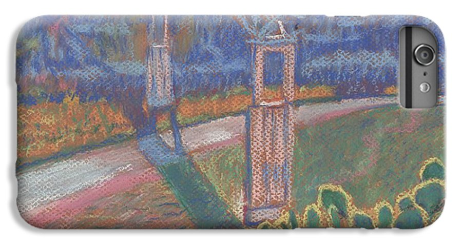 Pastel IPhone 6s Plus Case featuring the painting West Of The Pecos by Horacio Prada