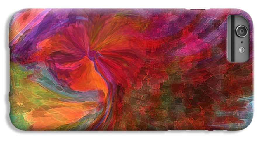 Woman Art IPhone 6s Plus Case featuring the digital art Women by Linda Sannuti