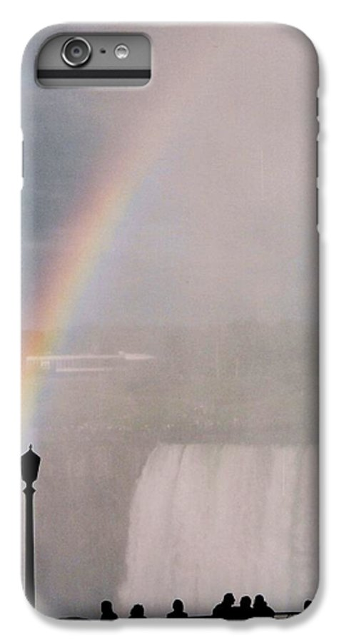 Waterfall IPhone 6s Plus Case featuring the photograph Rainbow Falls by Pharris Art