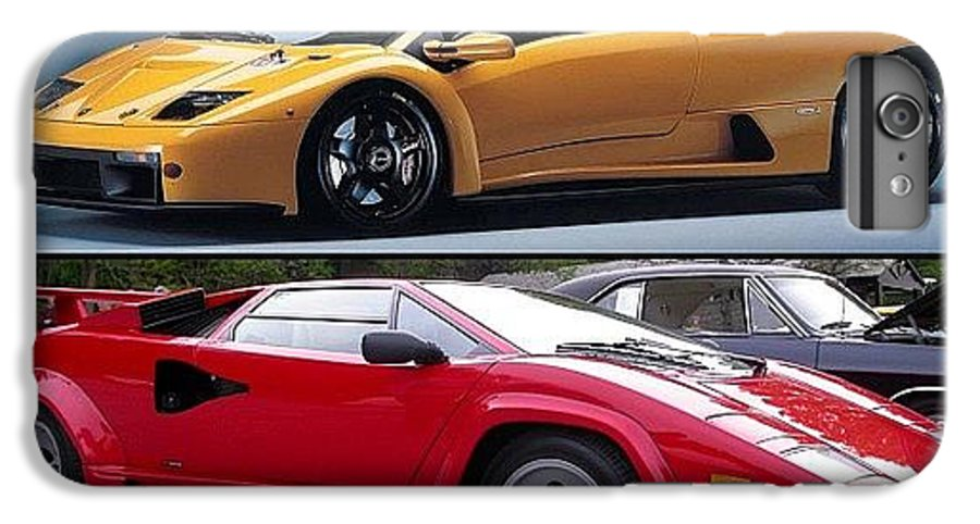 Old School Lamborghini Diablo Or Iphone 6s Plus Case For Sale By