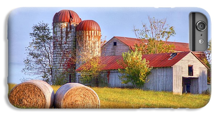 Barn IPhone 6s Plus Case featuring the photograph Two by Mitch Cat