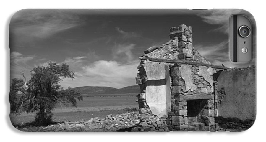 Cottage IPhone 6s Plus Case featuring the photograph Farmhouse Cottage Ruin Flinders Ranges South Australia by Ralph A Ledergerber-Photography