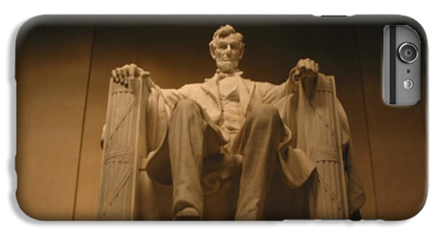 Abraham Lincoln IPhone 6s Plus Case featuring the painting Lincoln Memorial by Brian McDunn