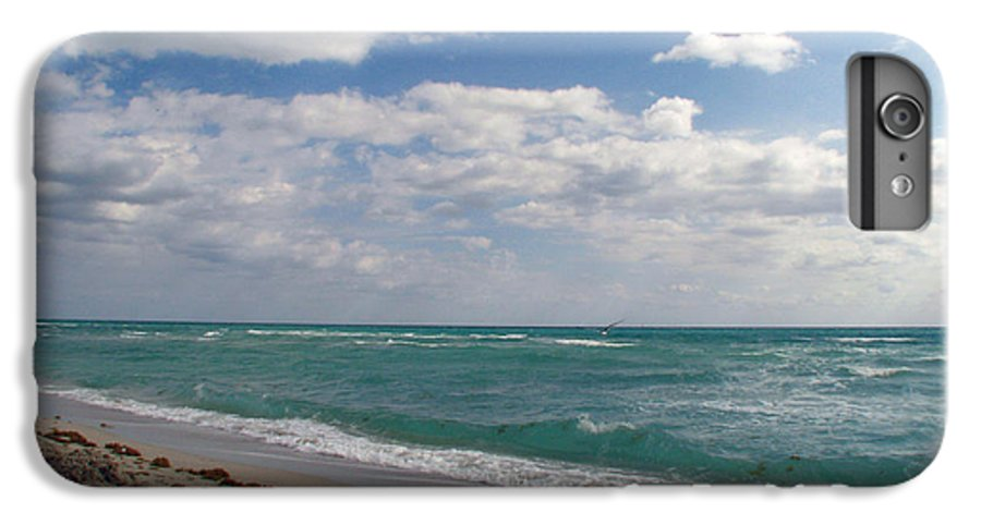 Miami Beach IPhone 6s Plus Case featuring the photograph Miami Beach by Amanda Barcon