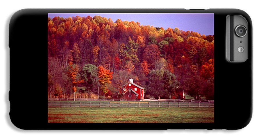 Autumn IPhone 6s Plus Case featuring the photograph 102701-16 by Mike Davis