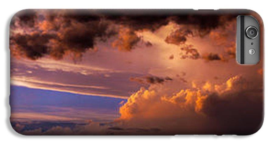 Nebraskasc IPhone 6s Plus Case featuring the photograph Nebraska Hp Supercell Sunset by NebraskaSC