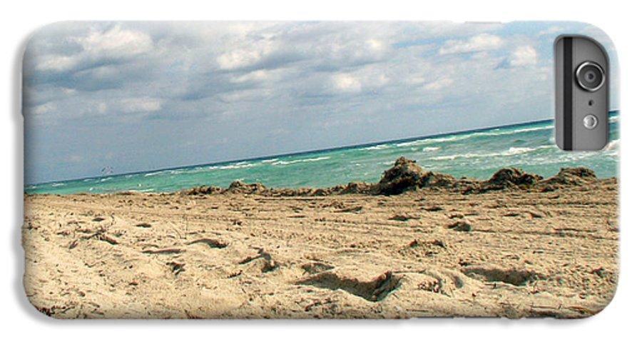 Miami IPhone 6s Plus Case featuring the photograph Miami Beach by Amanda Barcon