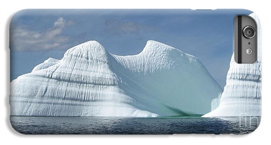 Iceberg Photograph Ice Water Ocean Sea Atlantic Summer Newfoundland IPhone 6s Plus Case featuring the photograph Iceberg by Seon-Jeong Kim