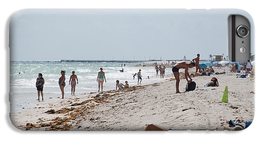Nude IPhone 6s Plus Case featuring the photograph A Day At Paradise Beach by Rob Hans