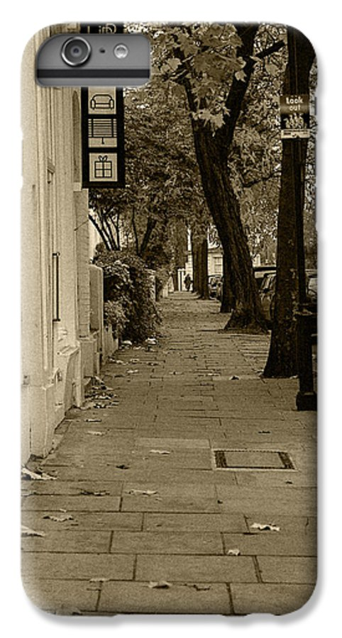 London IPhone 6s Plus Case featuring the photograph A London Street I by Ayesha Lakes