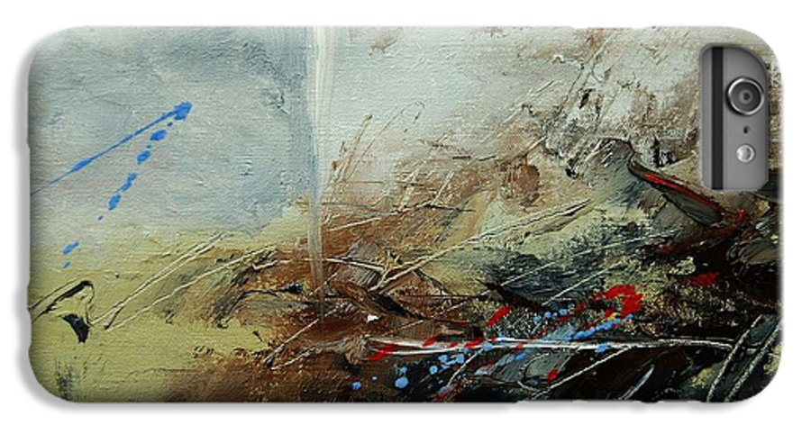 Abstract IPhone 6s Plus Case featuring the print Abstract 070408 by Pol Ledent