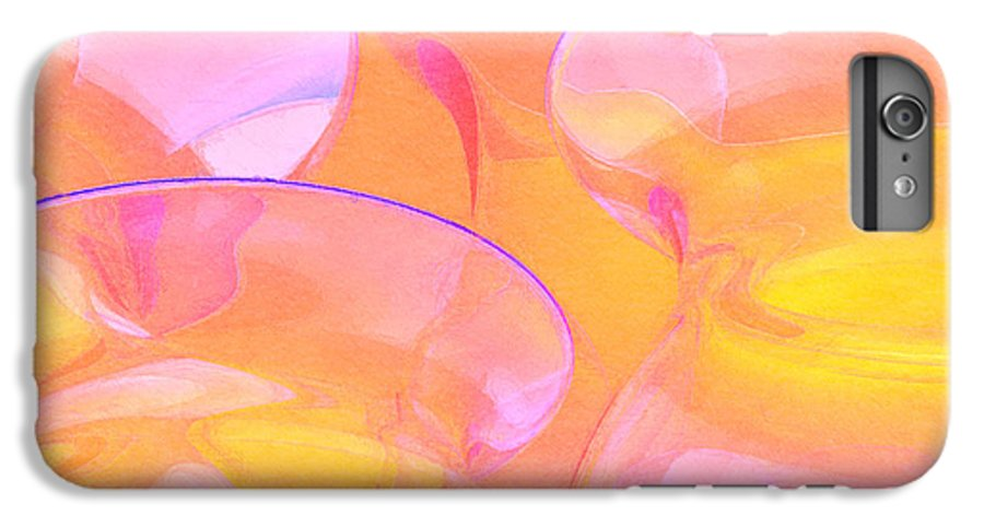 Abstract IPhone 6s Plus Case featuring the photograph Abstract Number 19 by Peter J Sucy