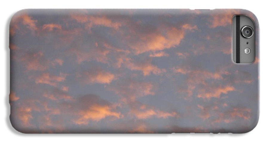 Skyscape IPhone 6s Plus Case featuring the painting Afternoon Sky 11 by Roger Cummiskey