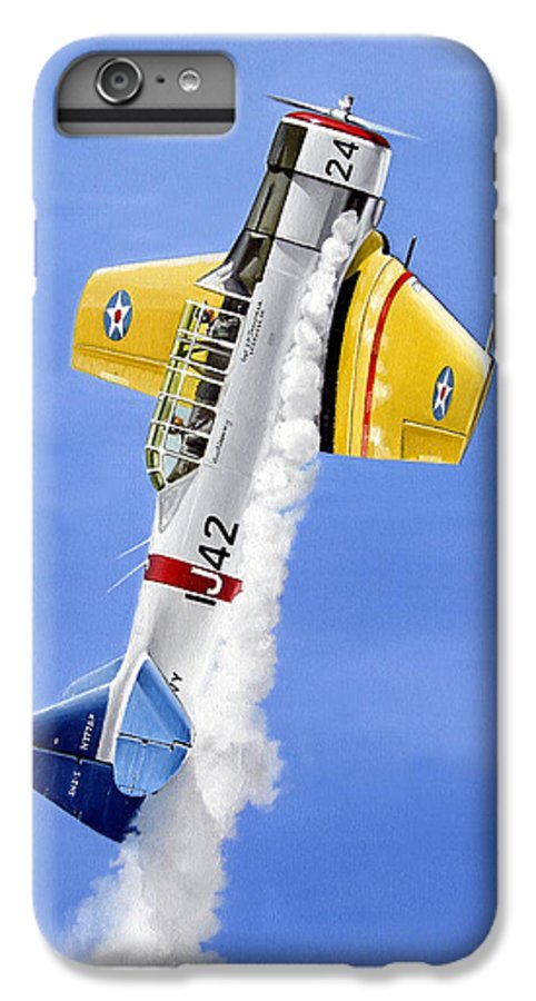 Military IPhone 6s Plus Case featuring the painting Air Show by Marc Stewart