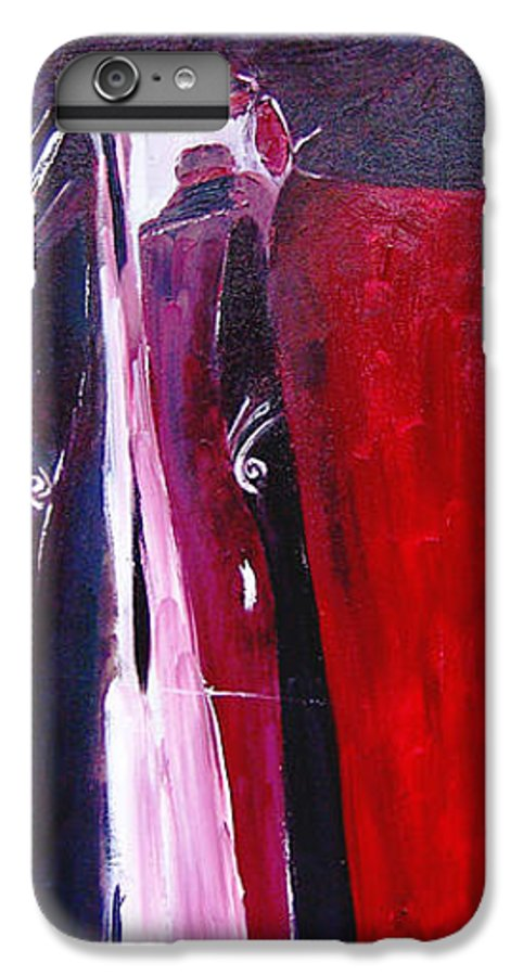Figurative IPhone 6s Plus Case featuring the painting Almost Still Life by Olga Alexeeva