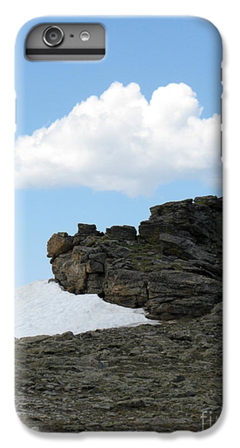 Rocky Mountains IPhone 6s Plus Case featuring the photograph Alpine Tundra - Up In The Clouds by Amanda Barcon