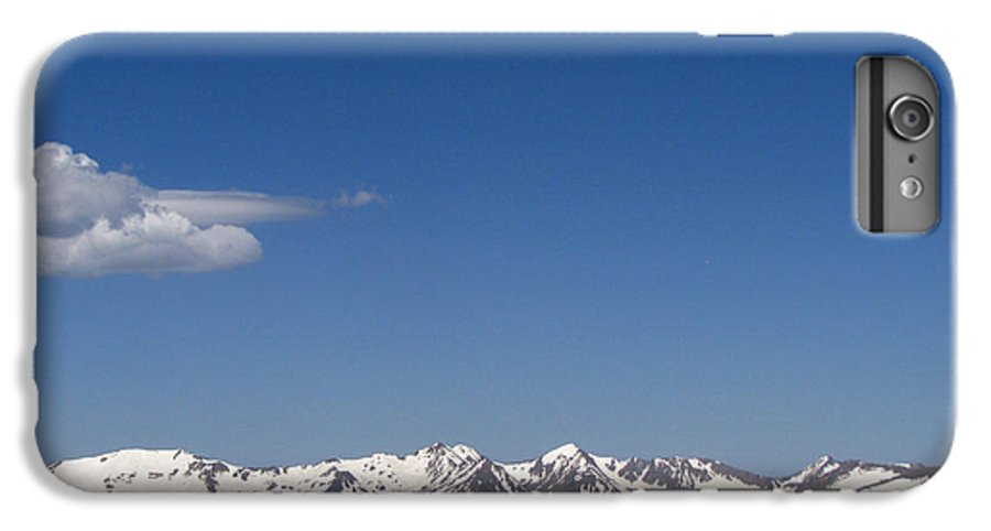 Mountains IPhone 6s Plus Case featuring the photograph Alpine Tundra Series by Amanda Barcon
