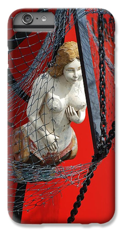 Ship IPhone 6s Plus Case featuring the photograph Angel Of The Seas by Rob Hans