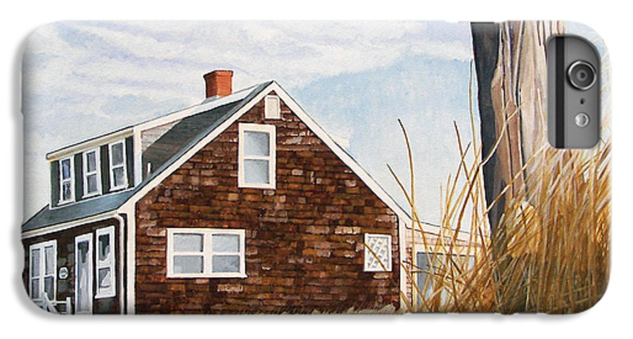 Landscape IPhone 6s Plus Case featuring the painting Another New England Sunrise by Dominic White
