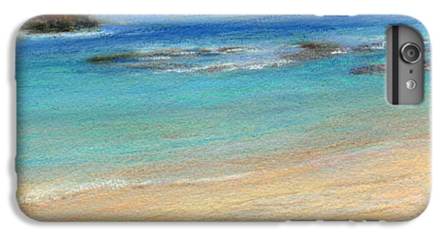 Coastal Decor IPhone 6s Plus Case featuring the painting Aqua Moloa'a by Kenneth Grzesik