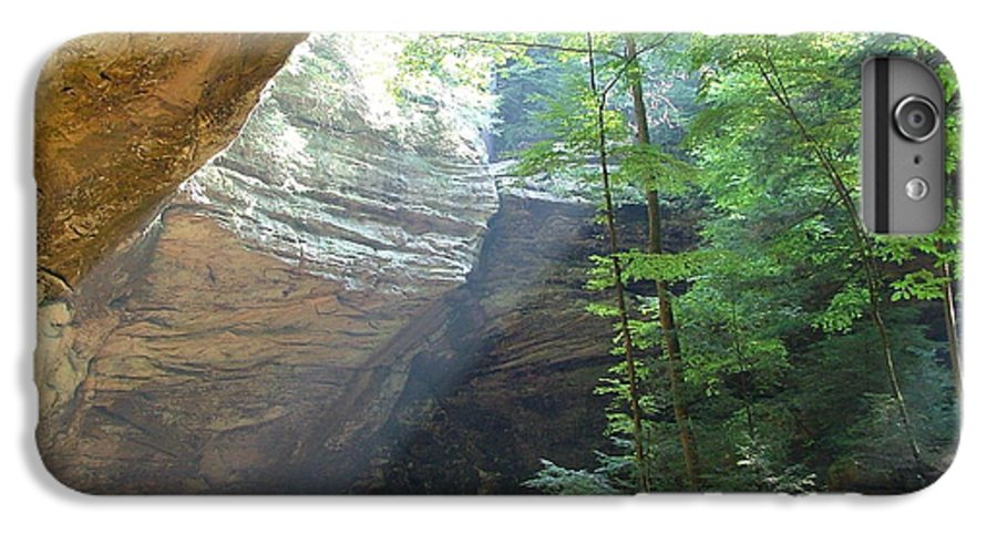 Photograph IPhone 6s Plus Case featuring the photograph Ash Cave by Mindy Newman