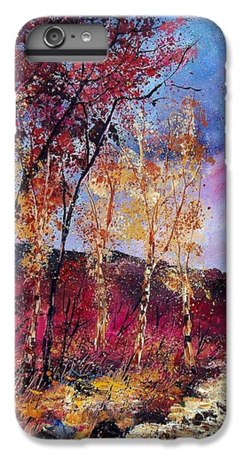 Landscape IPhone 6s Plus Case featuring the painting Autumn 760808 by Pol Ledent
