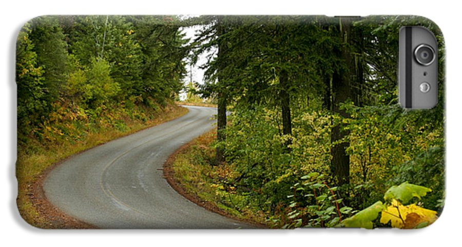 Road IPhone 6s Plus Case featuring the photograph Autumn Road by Idaho Scenic Images Linda Lantzy