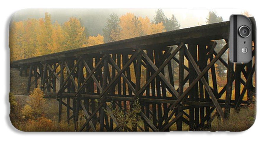 Trestle IPhone 6s Plus Case featuring the photograph Autumn Trestle by Idaho Scenic Images Linda Lantzy