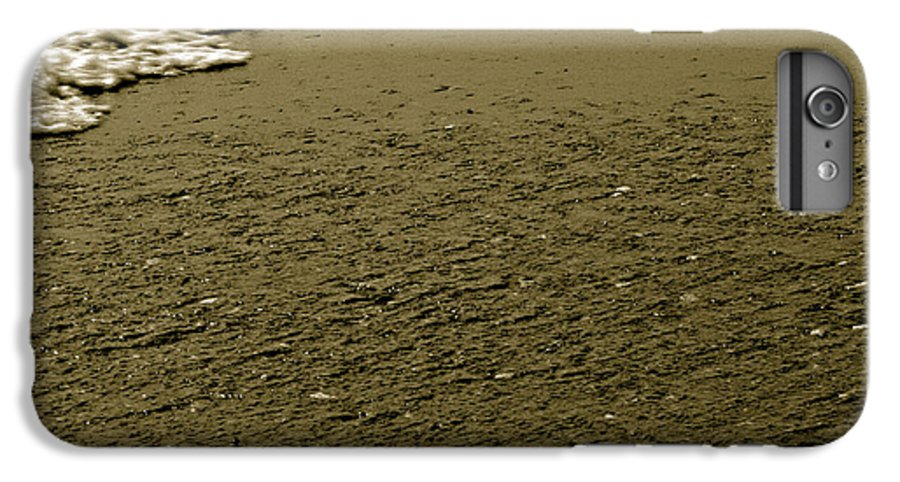Water IPhone 6s Plus Case featuring the photograph Beach Texture by Jean Macaluso