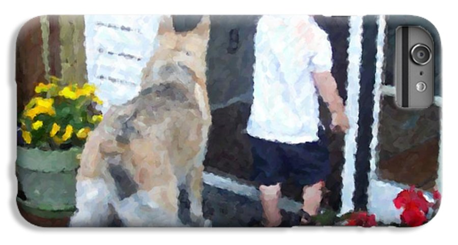 Dogs IPhone 6s Plus Case featuring the photograph Best Friends by Debbi Granruth