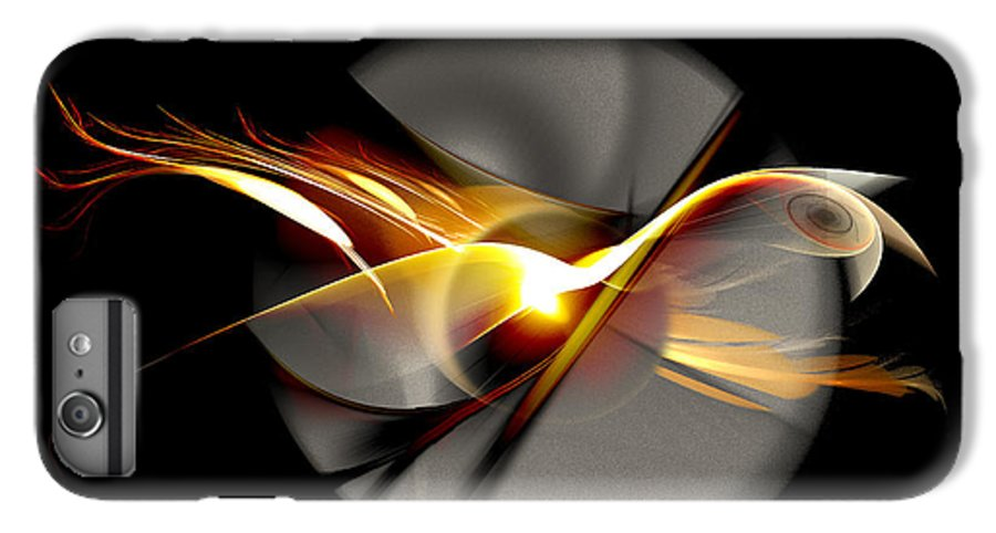 Bird IPhone 6s Plus Case featuring the digital art Bird Of Passage by Aniko Hencz