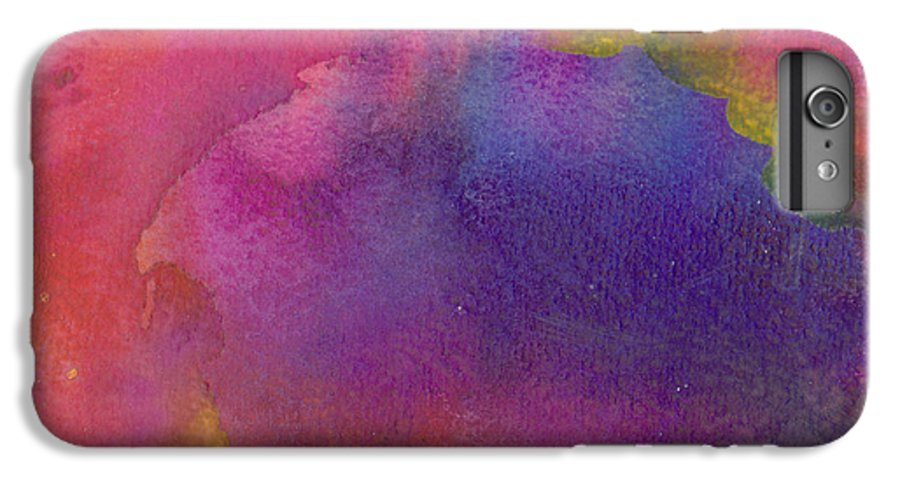 Red IPhone 6s Plus Case featuring the painting Birth by Christina Rahm Galanis