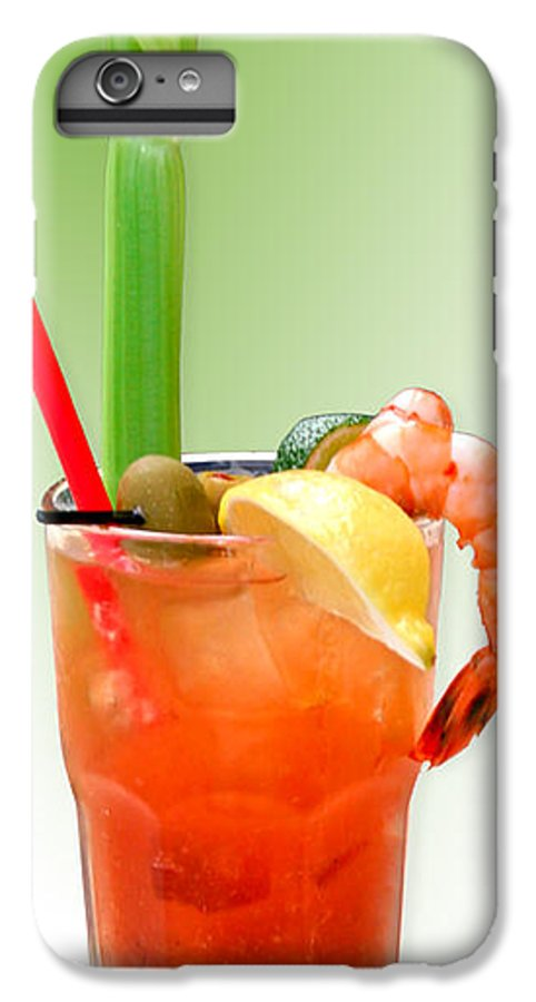 Drinks IPhone 6s Plus Case featuring the photograph Bloody Mary Hand-crafted by Christine Till