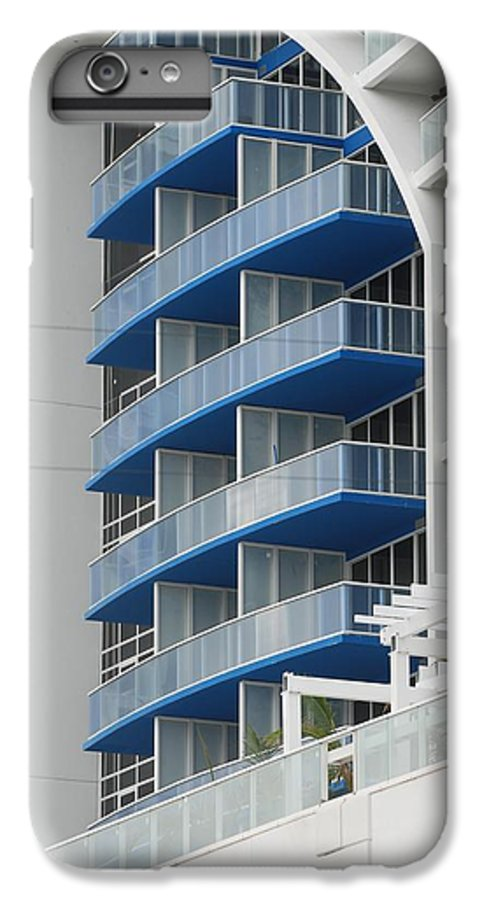 Architecture IPhone 6s Plus Case featuring the photograph Blue Bayu by Rob Hans