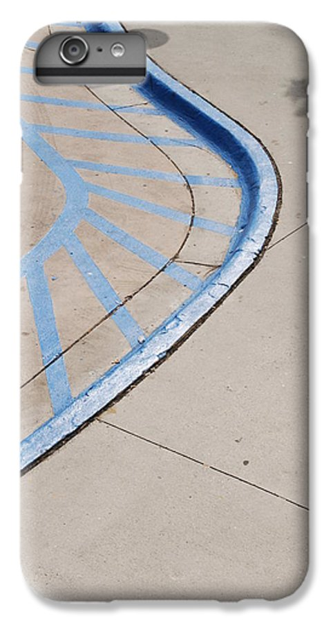 Blue IPhone 6s Plus Case featuring the photograph Blue Zone by Rob Hans