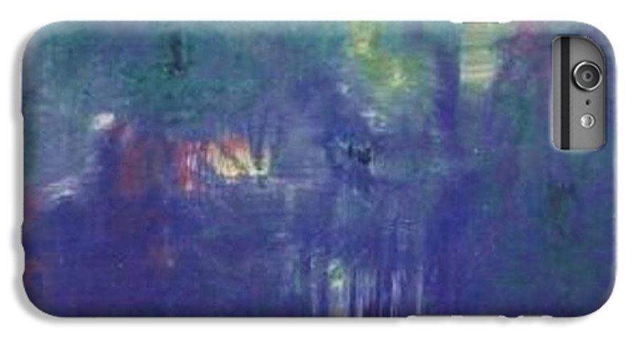 Park IPhone 6s Plus Case featuring the painting Bois De Boulogne by Michael Puya