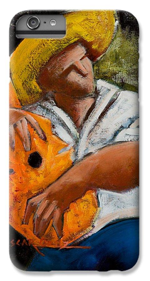 Puerto Rico IPhone 6s Plus Case featuring the painting Bravado Alla Prima by Oscar Ortiz